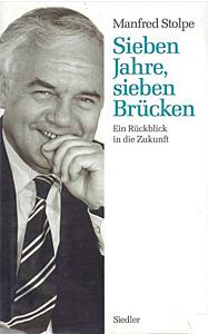 Buchtitel Sieben Jahre, sieben Brücken - Manfred Stolpe