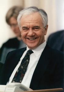 Manfred Stolpe im Brandenburgischen Landtag
